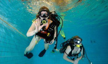 proberen te duiken